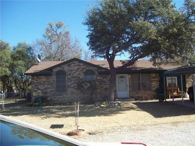 Brownwood TX Single Family Home For Sale: $79,000