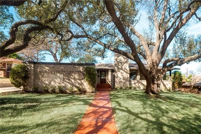 Fort Worth Single Family Home For Sale: 6458 Woodstock Road