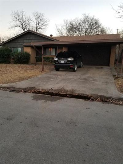 Everman Single Family Home For Sale: 1005 Marlene Drive