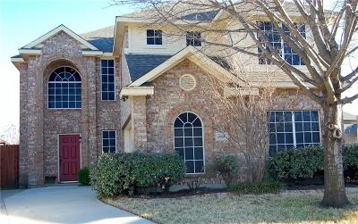 Sachse Single Family Home Active Option Contract: 6904 Falcon Crest Lane