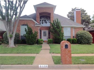 Richardson Single Family Home For Sale: 3120 Park Garden Place