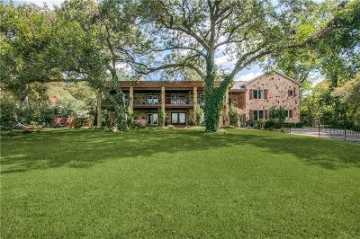 Single Family Home For Sale: 8326 Garland Road