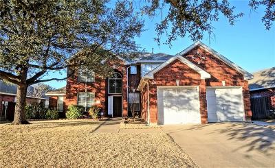Keller Single Family Home For Sale: 637 Cottonwood Trail
