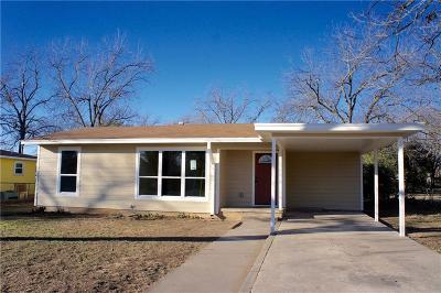 Brownwood Single Family Home For Sale: 2107 6th Street