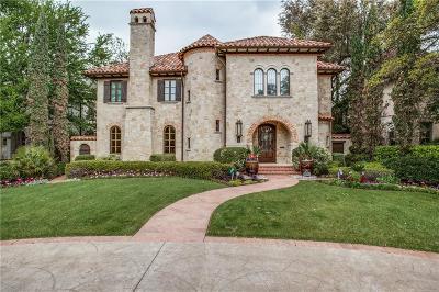 Dallas, Highland Park, University Park Single Family Home For Sale: 3826 Maplewood Avenue