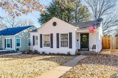 Fort Worth Single Family Home For Sale: 5613 Pershing Avenue