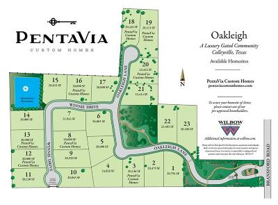 Colleyville Residential Lots & Land Active Option Contract: 5624 Oakleigh Lane