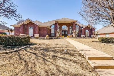 Mansfield Single Family Home Active Option Contract: 2609 Wild Ivy Trail