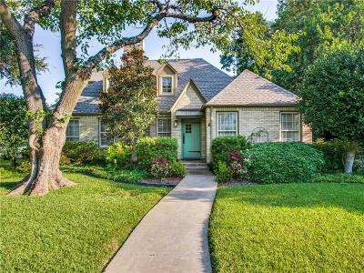 Fort Worth Single Family Home For Sale: 3208 Lamesa Place