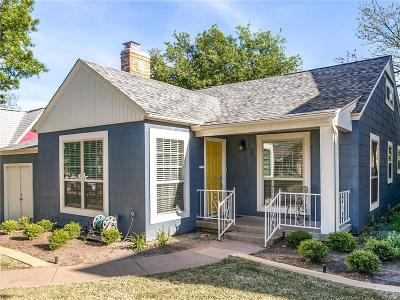 Fort Worth Single Family Home For Sale: 4033 Pershing Avenue