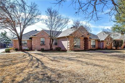 Keller Single Family Home Active Option Contract: 1508 Lost Lake Drive
