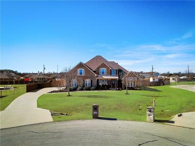 Hudson Oaks Single Family Home Active Kick Out: 512 Green Pointe Drive