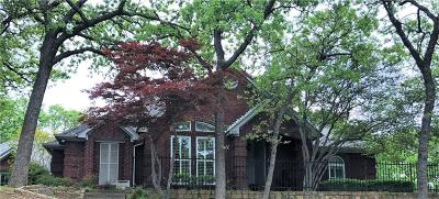 Grapevine Single Family Home Active Option Contract: 3253 Oak Tree Lane