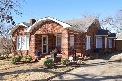 Denison Single Family Home For Sale: 1231 W Walker Street