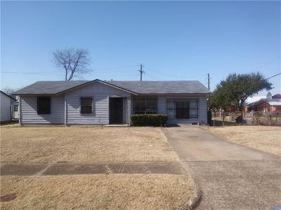 Single Family Home Active Option Contract: 12637 Rialto Drive