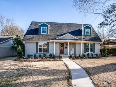 Richardson Single Family Home Active Contingent: 2022 Flat Creek Drive