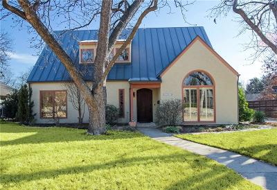 Dallas, Fort Worth Single Family Home For Sale: 6242 Prospect Avenue