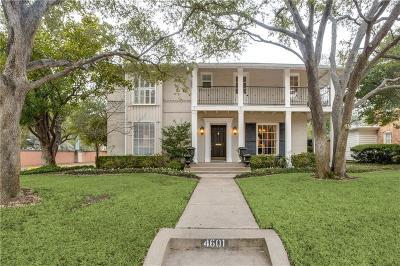 Highland Park, University Park Single Family Home For Sale: 4601 Fairfax Avenue