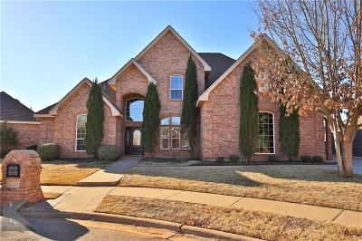 Abilene Single Family Home For Sale: 2325 Wyndham Court