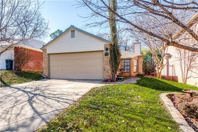 Euless Single Family Home Active Contingent: 1593 Tall Timbers Drive