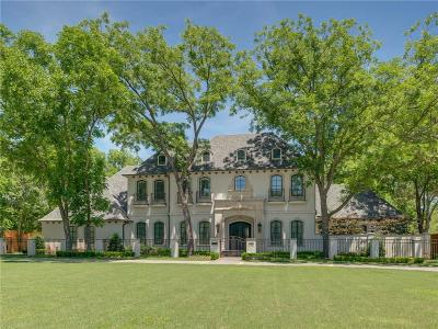 Dallas Single Family Home Active Option Contract: 8306 Inwood Road