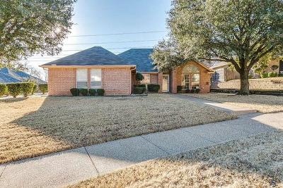 Benbrook Single Family Home Active Option Contract: 10229 Trail Ridge Drive