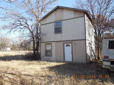 Eastland County Single Family Home Active Contingent: 222 Co Road 541