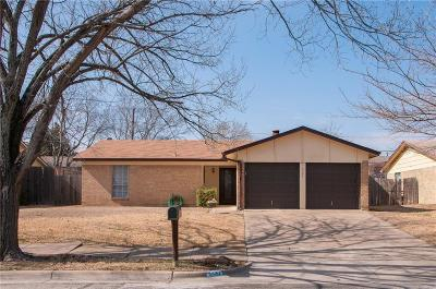 Watauga Single Family Home Active Option Contract: 6529 Wooddale Drive