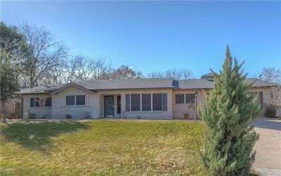Fort Worth Single Family Home For Sale: 1812 Ridgmar Boulevard