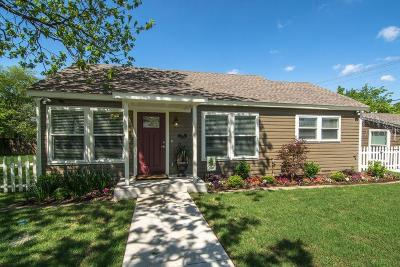 Grapevine Single Family Home For Sale: 206 Church Street