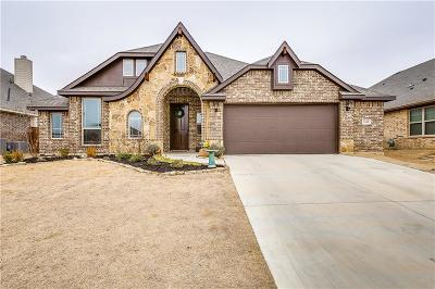 Burleson Single Family Home Active Option Contract: 1165 Spring Cress Drive