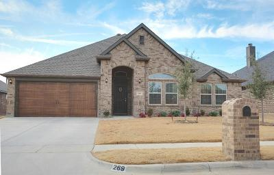 Justin Single Family Home For Sale: 269 Hilltop Drive