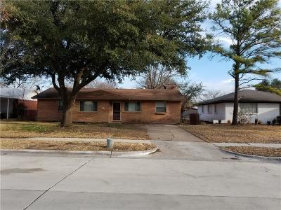 Mesquite Single Family Home For Sale: 1404 Andrew Street