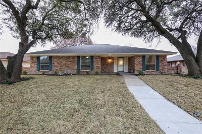 Plano Single Family Home Active Option Contract: 2416 Teakwood Lane