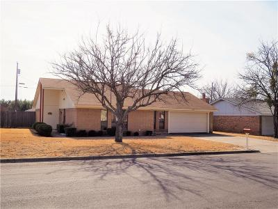 Brownwood Single Family Home Active Option Contract: 3610 Surrey Lane
