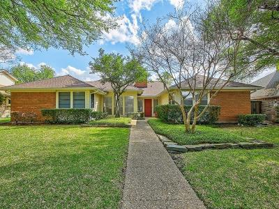 Dallas Single Family Home For Sale: 7332 Arbor Oaks Drive