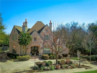 Coppell Single Family Home Active Option Contract: 472 Country Lane