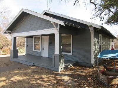 Brownwood Single Family Home For Sale: 706 Avenue G
