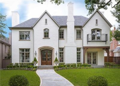 University Park Single Family Home For Sale: 3708 Greenbrier Drive