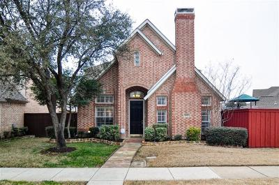 Irving Single Family Home Active Contingent: 8613 Quail Meadow Drive