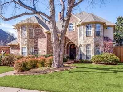 Plano Single Family Home Active Contingent: 3217 Oak Hollow Drive