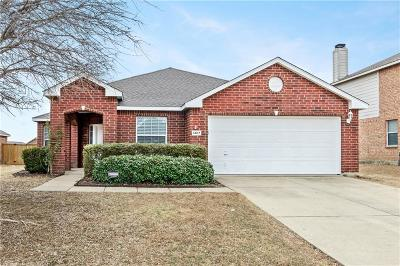 Wylie Single Family Home Active Option Contract: 1407 Talladega Drive