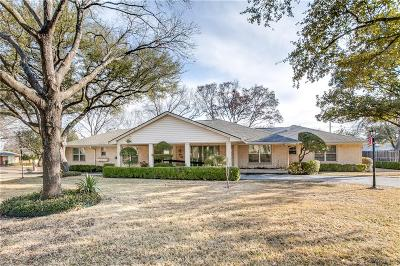 Single Family Home For Sale: 7630 Oakbluff Drive