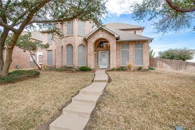 Mesquite Single Family Home Active Option Contract: 823 Big Thicket Trail