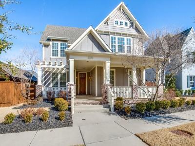 Carrollton Single Family Home Active Option Contract: 2233 Gatsby Way