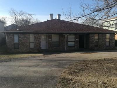Irving Multi Family Home Active Option Contract: 1412 Elms Road