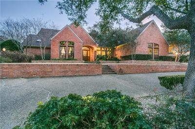 Dallas Single Family Home For Sale: 5326 Harbor Town Drive