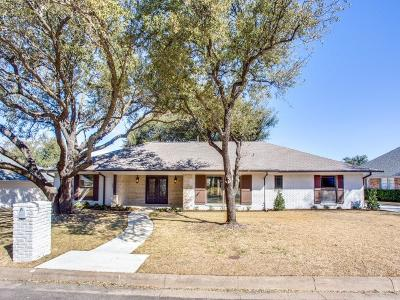 Fort Worth Single Family Home Active Option Contract: 4708 Boulder Run