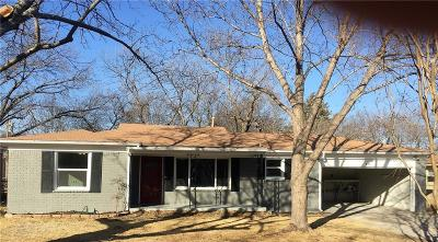 White Settlement Single Family Home Active Option Contract: 812 June Drive
