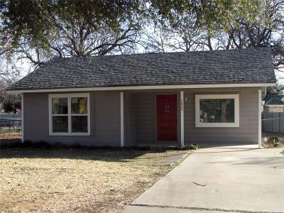 River Oaks Single Family Home For Sale: 4825 White Oak Lane